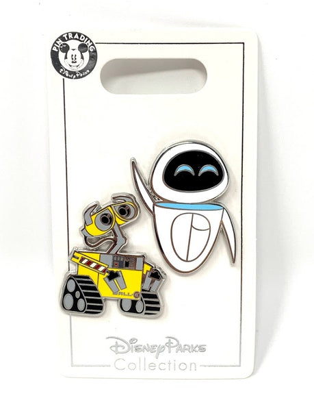 Wall-E and Eve Disney Pin Set