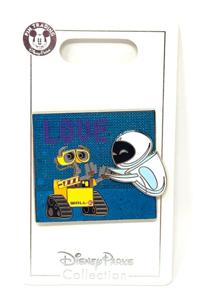 Wall-E and Eve Love Disney Pin