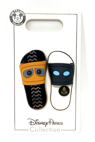 Wall-E and Eve Sandals Disney Pin Set