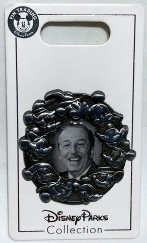 Walt Disney and Mickey Through the Years Disney Pin