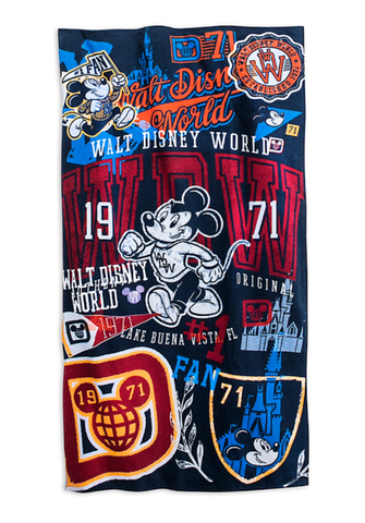 Walt Disney World 1971 Beach Towel