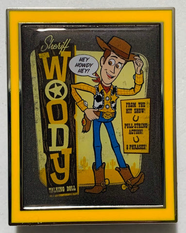Woody Toy Story 4 Mystery Disney Pin