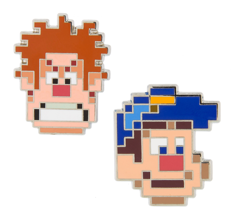 Wreck-It Ralph & Fix-It Felix Disney Pin Set