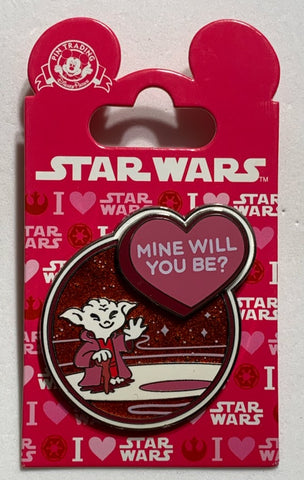 Yoda Mine Will You Be? Star Wars Disney Pin