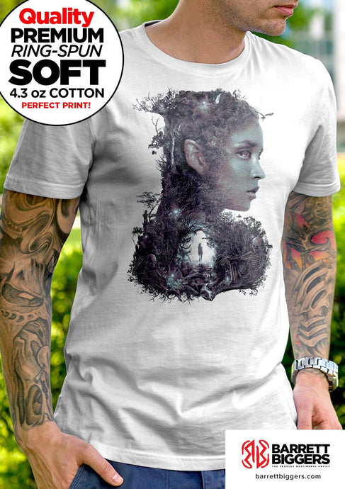 Dark Elf Unisex and Ladies T-Shirt