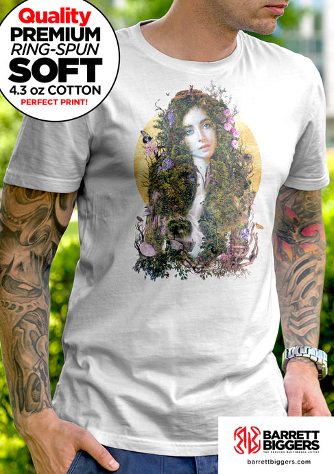 Mother Earth Unisex and Ladies T-Shirt