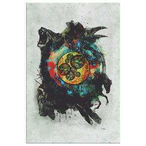 Cell of Life Wrap Canvas - Barrett Biggers Artist