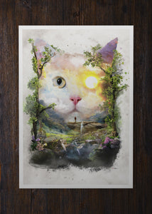 The Day Cat - Archival Prints