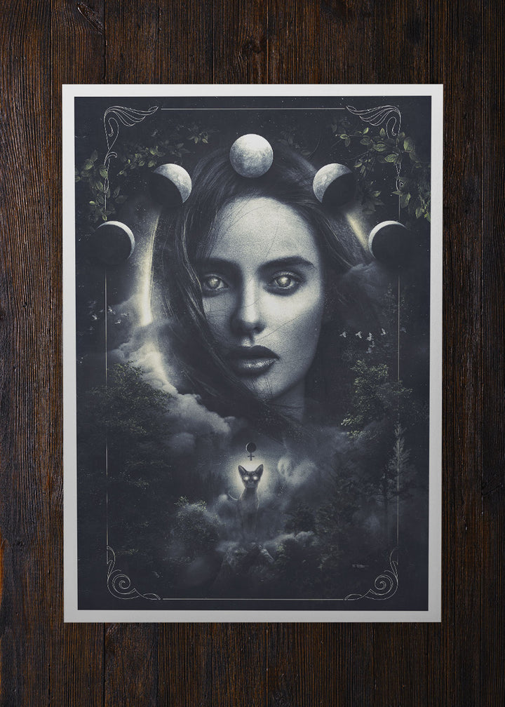 Lilith the First Woman - Archival Prints