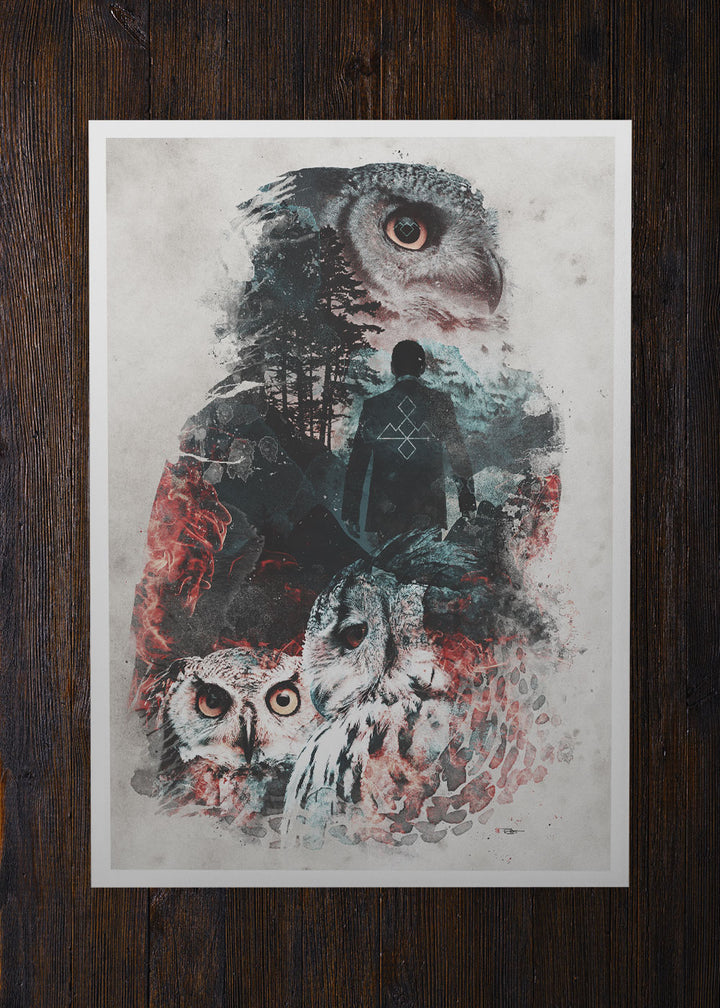 The Owls Are Not What They Seem  - Archival Prints