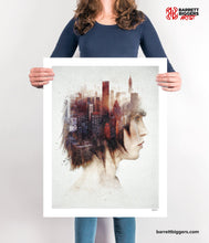 Load image into Gallery viewer, Urban Thoughts Surreal Abstract Art - Archival Prints and Canvas