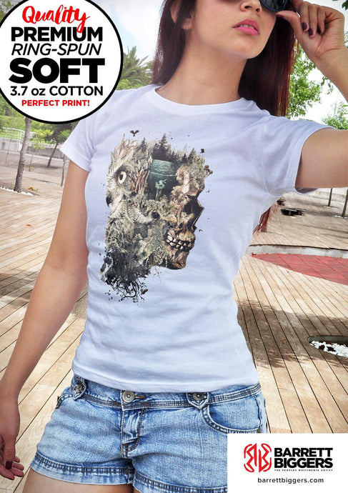 Forest Lake Dreamer Unisex Fit and Ladies Slim Fit T Shirts
