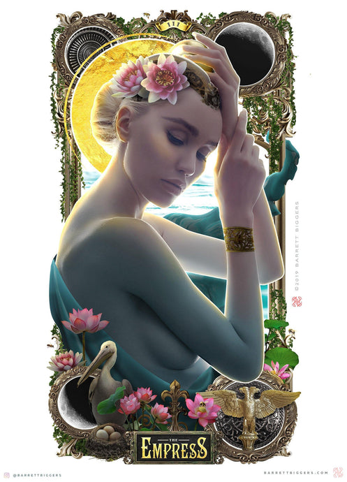 The Empress III Tarot Card - Archival Prints and Canvas