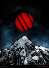 Load image into Gallery viewer, Red Peak Dark Surreal Landscape - Archival Prints and Canvas
