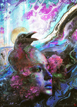 Load image into Gallery viewer, Raven Memories Abstract Liquid Art - Archival Prints and Canvas
