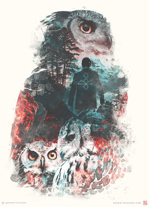 The Owls Are Not What They Seem  - Archival Prints and Canvas