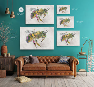 Honey Bee Wrap Canvas