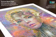 Load image into Gallery viewer, Sunset Dryad Elf Concept Art - Archival Prints and Canvas