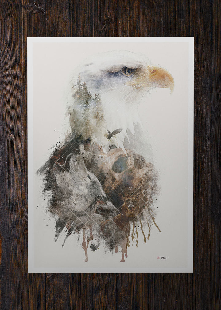 Bald Eagle Surreal - Archival Prints