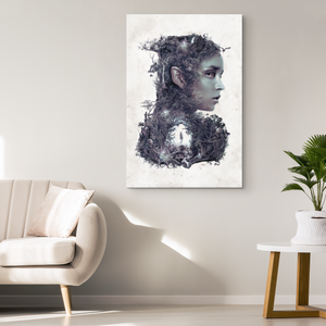 Dark Elf Wrap Canvas - Barrett Biggers Artist