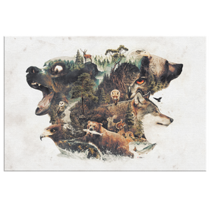 Predators and Prey Wrap Canvas - Barrett Biggers Artist