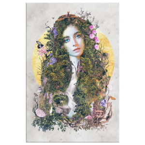 Gaia Mother Earth Wrap Canvas