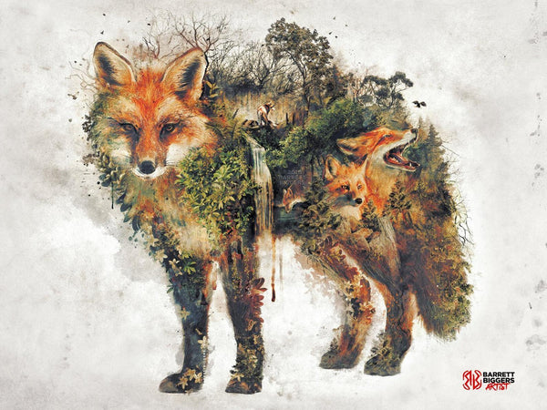 The Red Fox - Archival Prints and Canvas Options