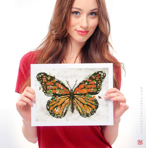 The Monarch Butterfly - Archival Prints and Canvas Options