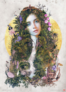 Mother Earth Nature Gaia - Archival Prints and Canvas