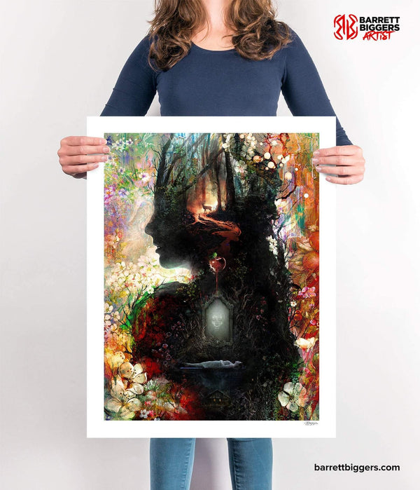 Snow White Fairy Tale - Archival Prints and Canvas Options