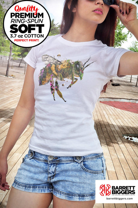 Must be the Honey Bee Unisex and Ladies T-Shirt