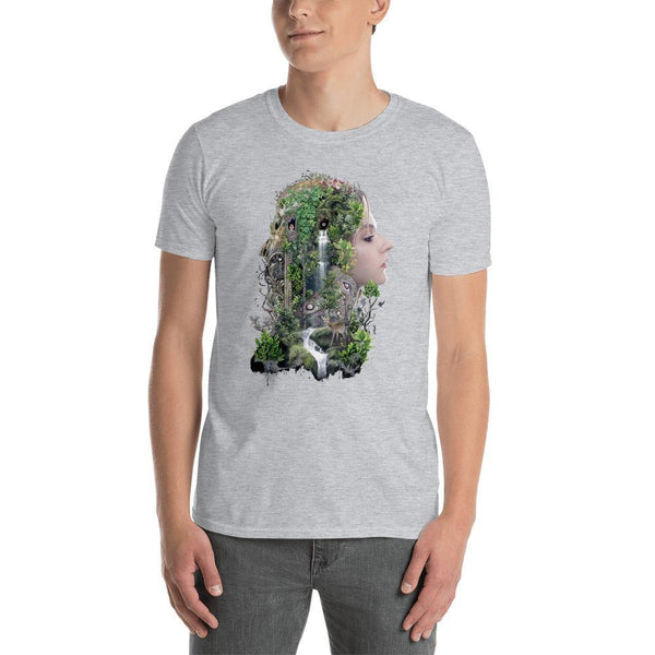 Duality of Nature Short-Sleeve Unisex T-Shirt - Barrett Biggers Artist