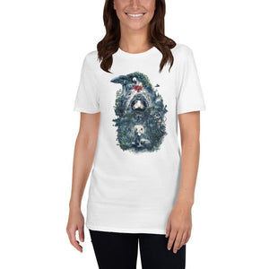 3 Eyed Raven Short-Sleeve Unisex T-Shirt - Barrett Biggers Artist