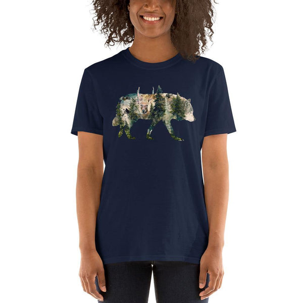 Walk With Wolves Short-Sleeve Unisex T-Shirt
