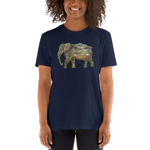 Elephant Short-Sleeve Unisex T-Shirt - Barrett Biggers Artist