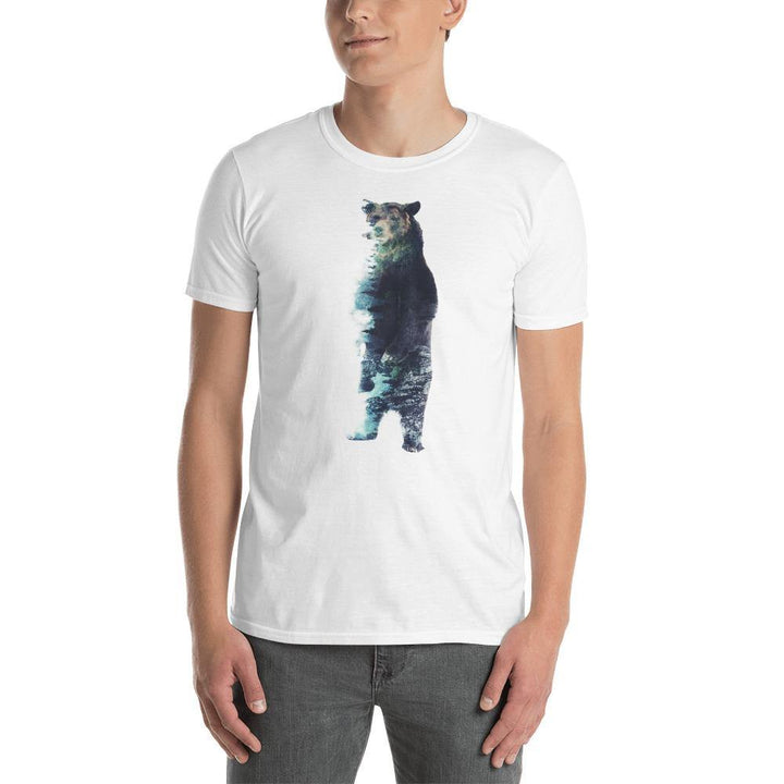 Misty Bear Short-Sleeve Unisex T-Shirt - Barrett Biggers Artist