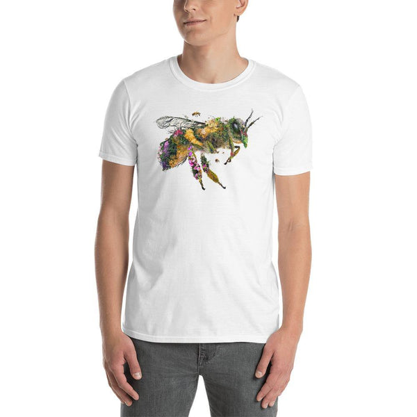 Honey Bee Short-Sleeve Unisex T-Shirt