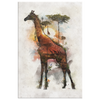 Giraffe Wrap Canvas