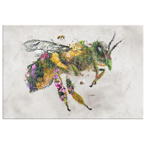Honey Bee Wrap Canvas - Barrett Biggers Artist