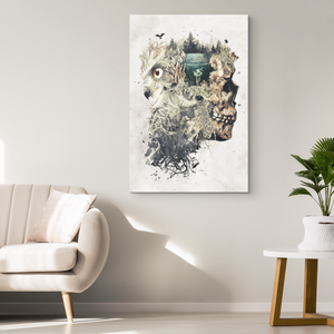 Forest Lake Dreamer Canvas Wrap - Barrett Biggers Artist