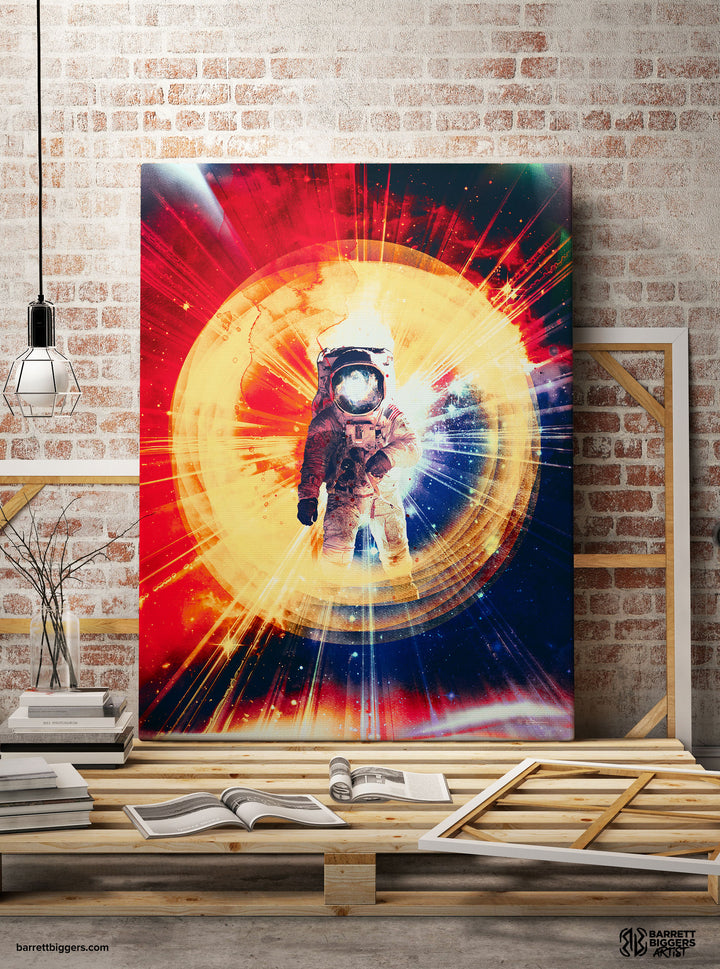 Lost in Space Wrap Canvas