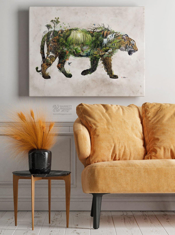 Tiger Wrap Canvas - Barrett Biggers Artist