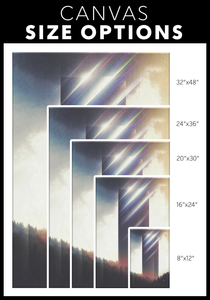 Tower of Refraction Wrap Canvas - Barrett Biggers Artist