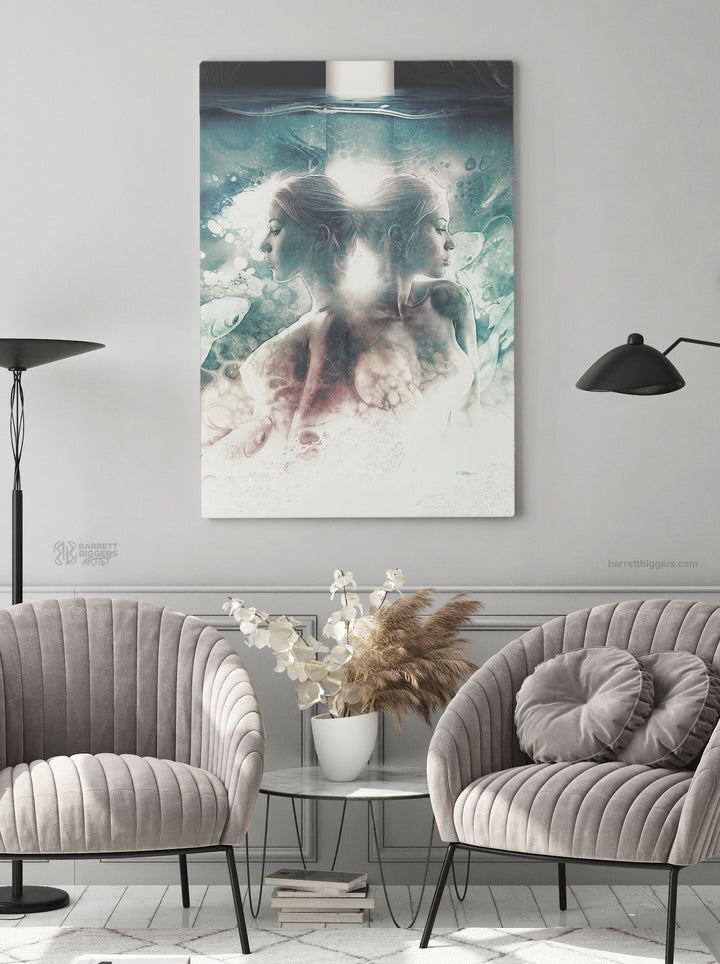 Sirens of the Sea Wrap Canvas