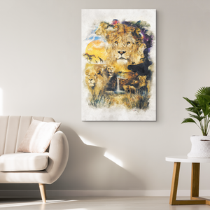 Circle of Life Wrap Canvas - Barrett Biggers Artist