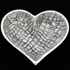 CROCO SILVER WITH HEART SPOON