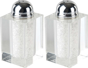Crystal Salt/Pepper Shakers
