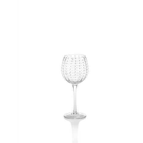 White Dot Wine Goblet