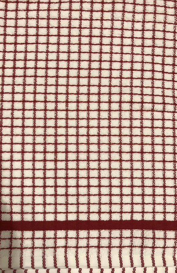 Dish Towels Red