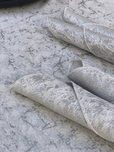 Marble Tablecloth Platinum